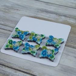 boutons en pâte polymère, couleurs pétillantes et estivales