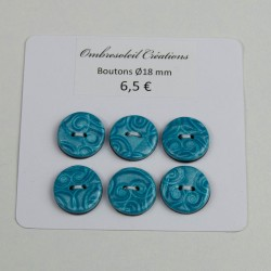 Boutons couture, arabesques...