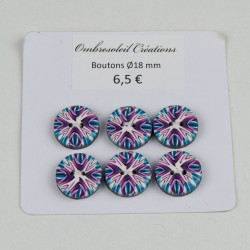 Boutons couture, motif...